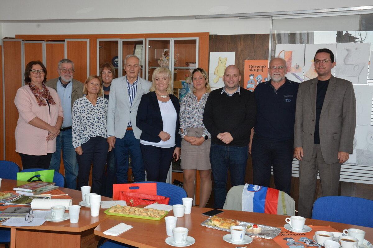 Obisk državne sekretarke Olge Belec v Beogradu