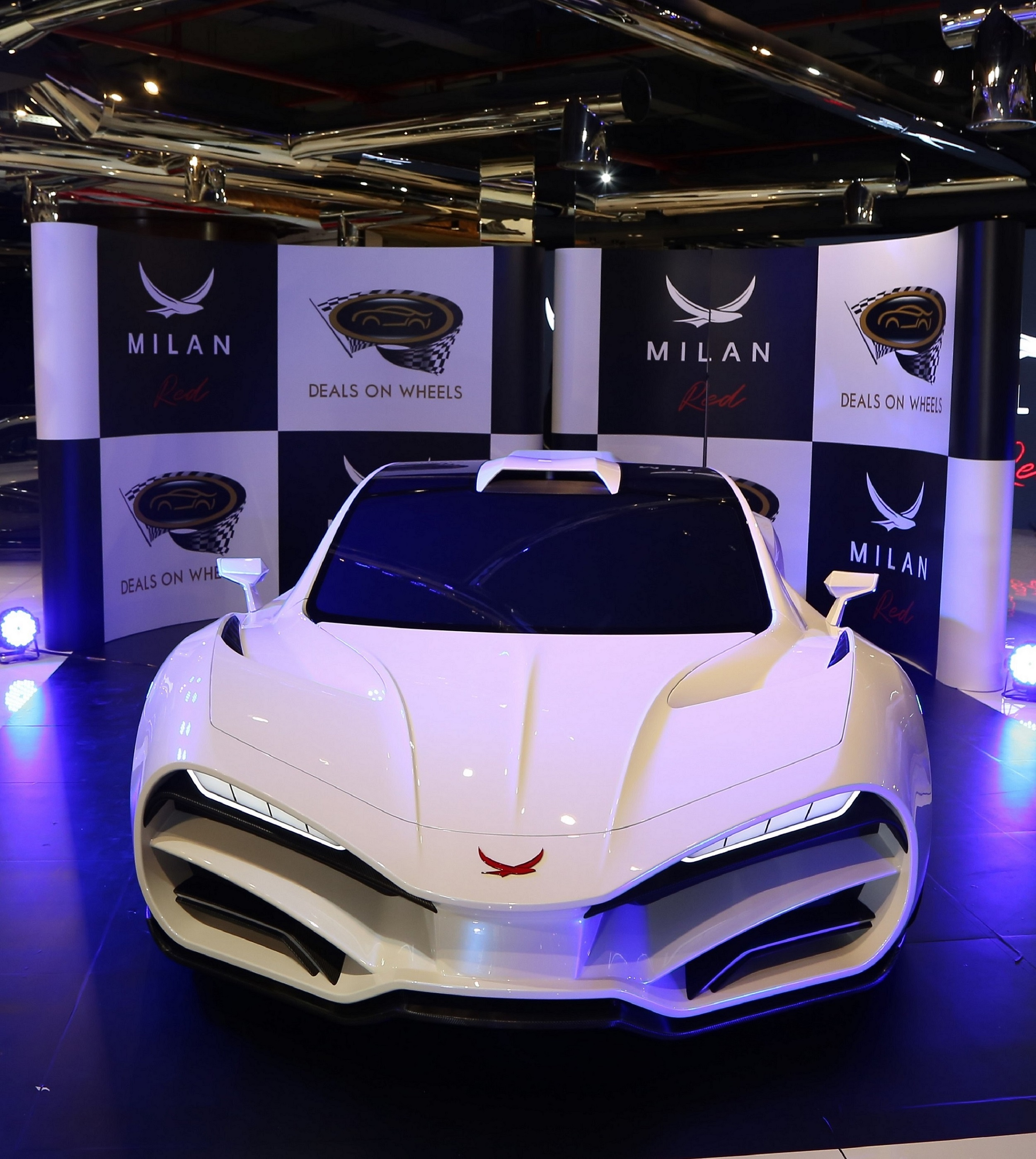 MILAN RED launched at Deals on Wheels Showroom in Dubai..jpg