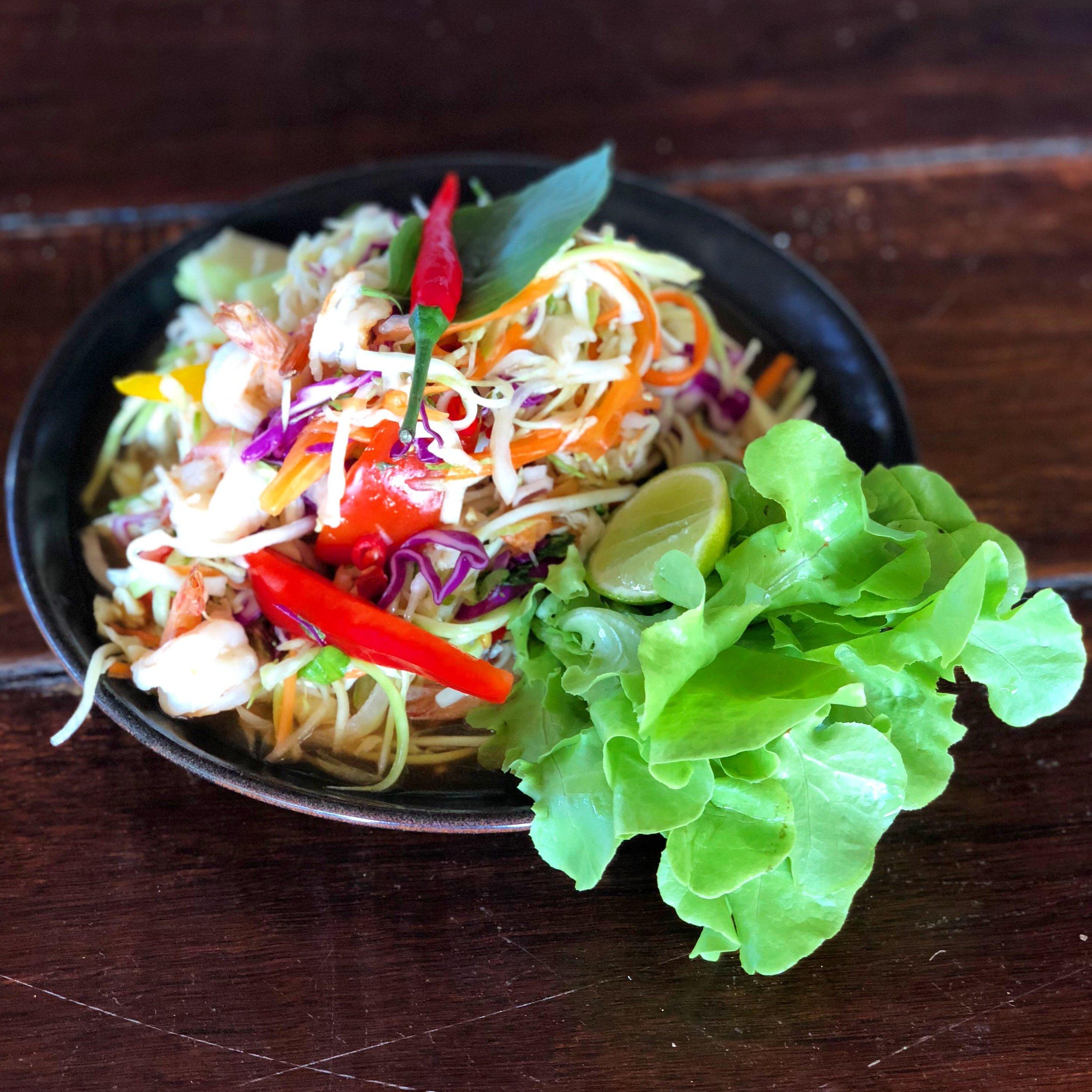 Seafood salad at Fisherman's