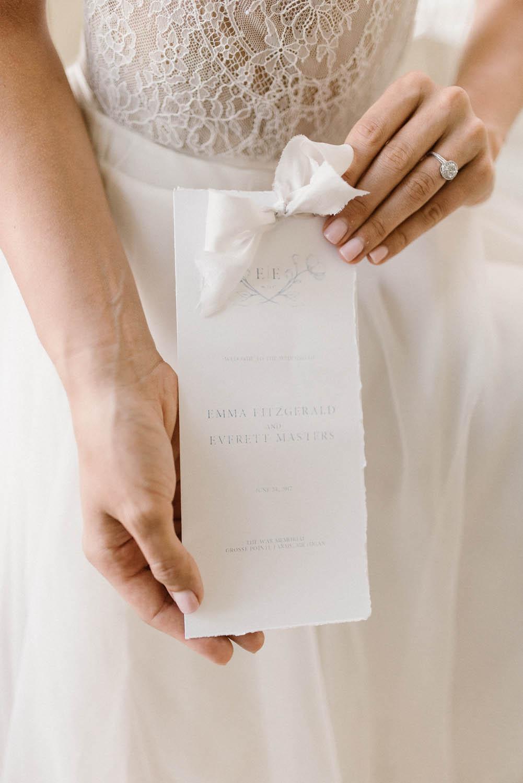 fine art ethereal high class wedding planners paper goods