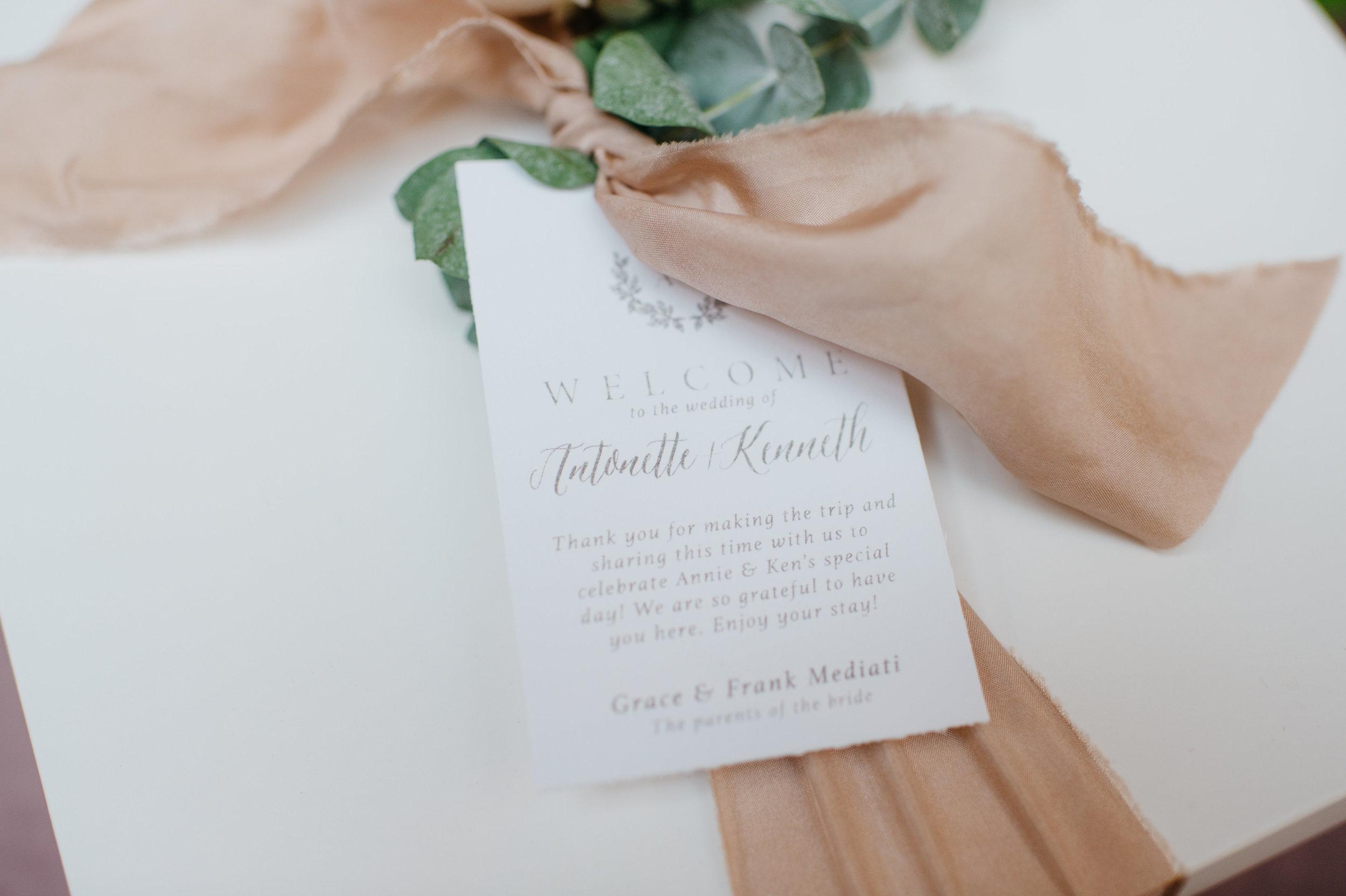 custom wedding planners michigan event design paper goods florals welcome gift