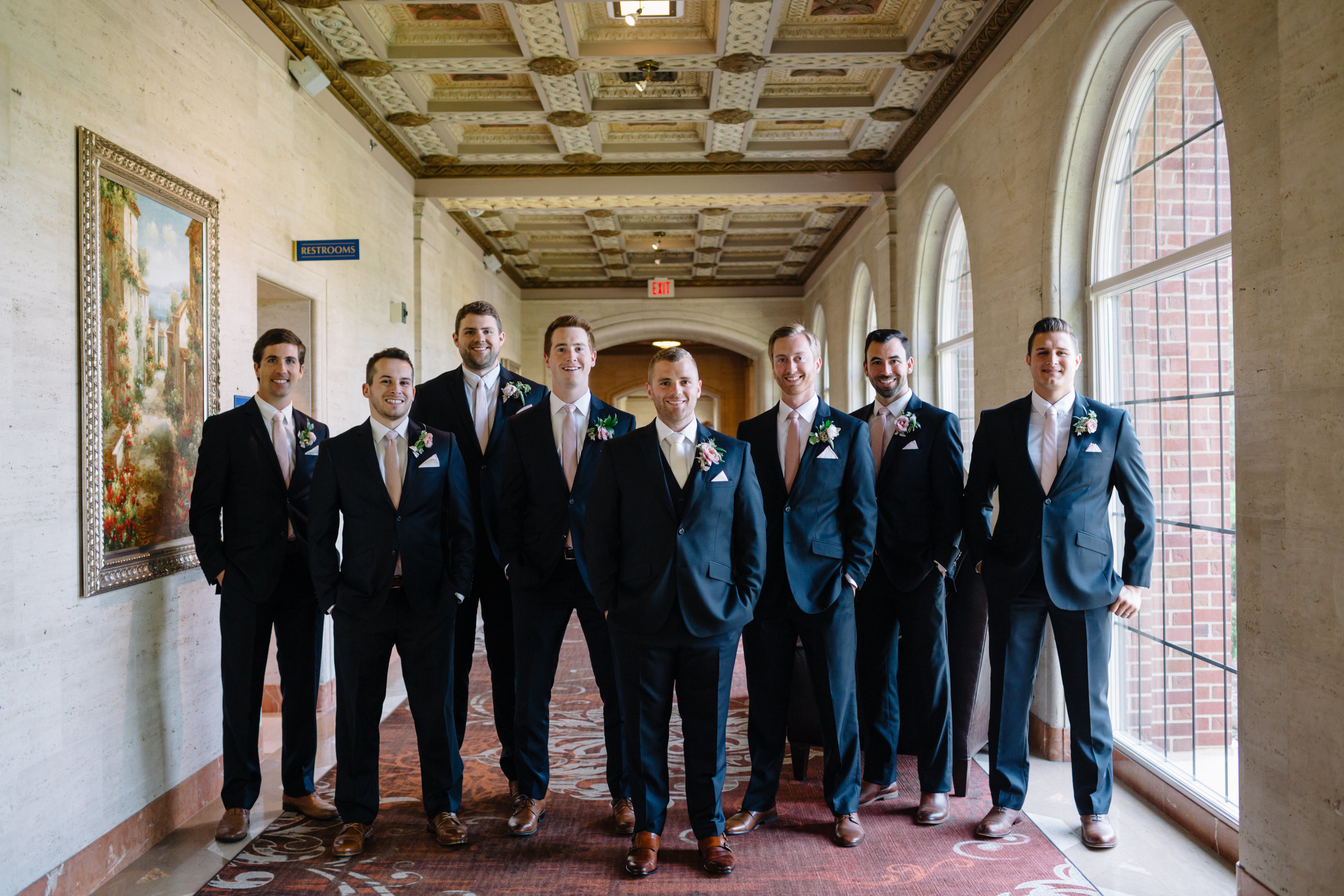 custom wedding planners michigan event design paper goods florals bridal party groomsmen