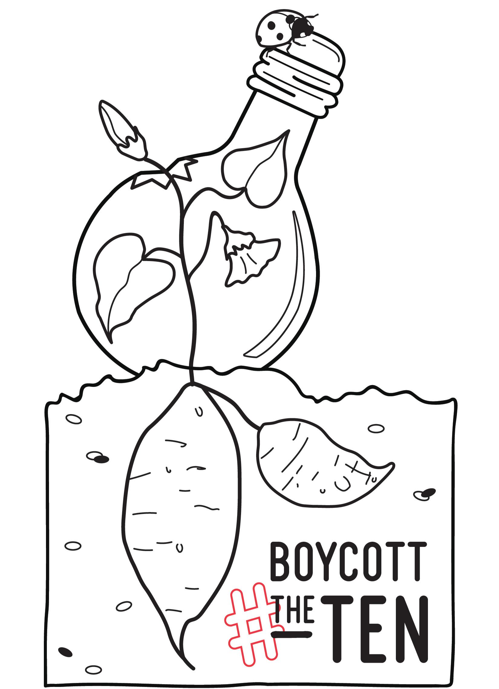 #BoycottTheTen - The Working-class and Homeless Organizing Alliance (WHOA) Boycott & Greensboro DSA