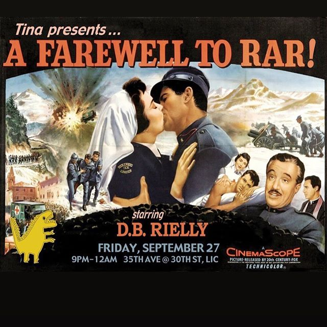 Join me for one last farewell to RaR Tonight with the incomparable @dbrielly