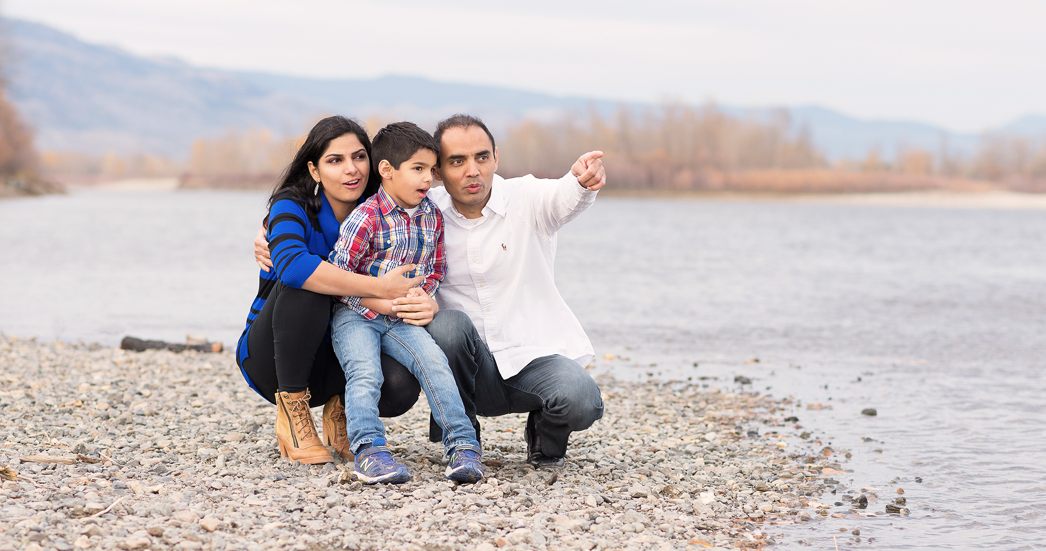 On location family photography in kamloops at RDClicks Photography