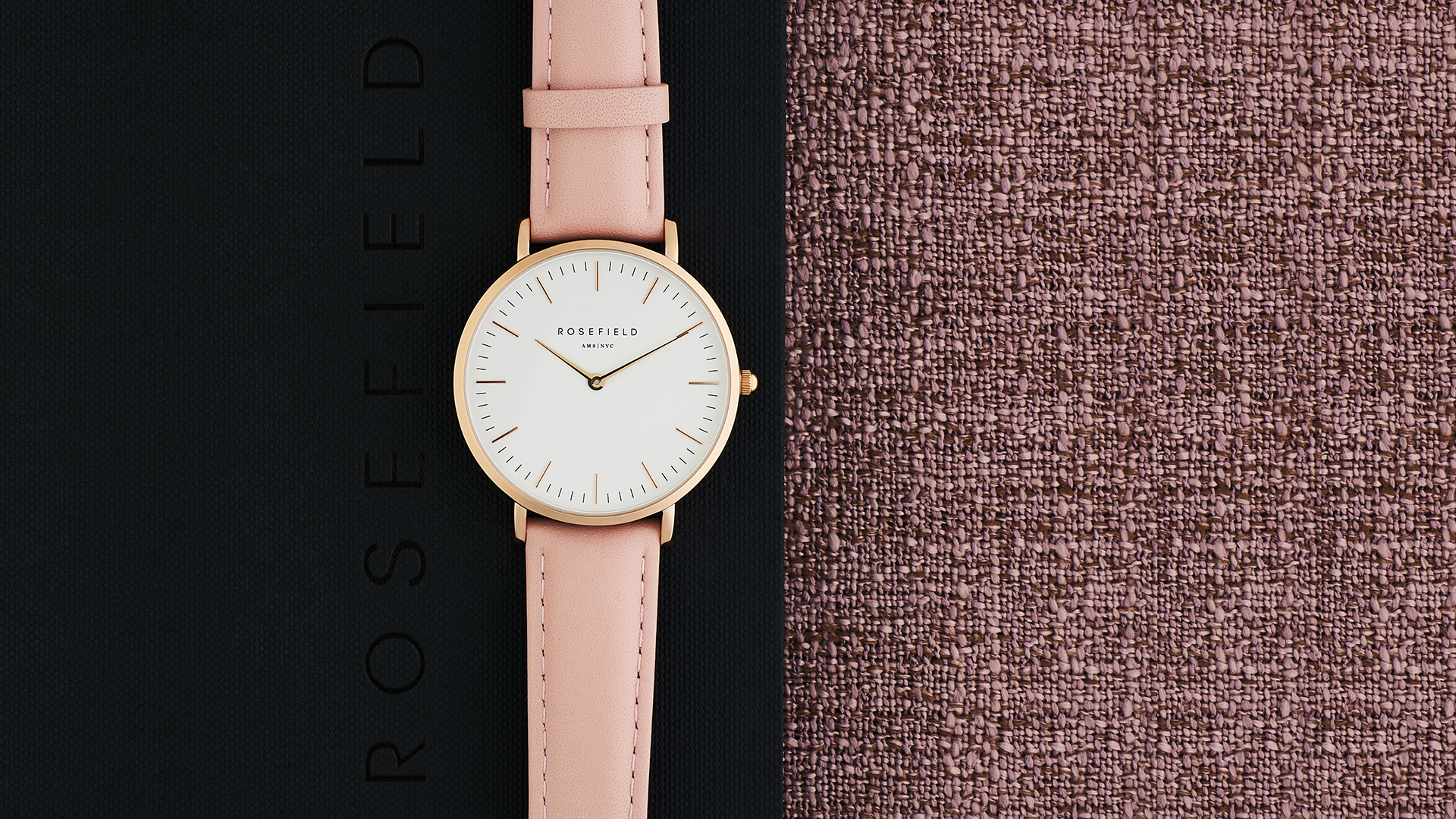 Rosefield wrist watch commercial at RDClicks Photography Kamloops
