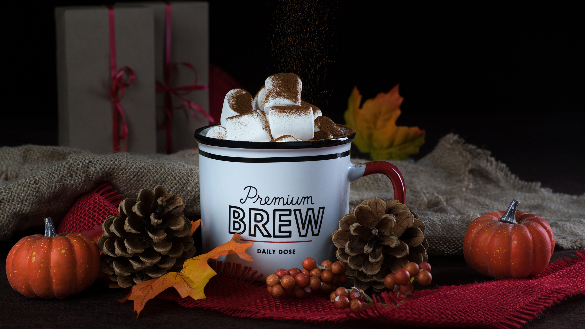 Premium brew coffee commercial at RDClicks Photography Kamloops