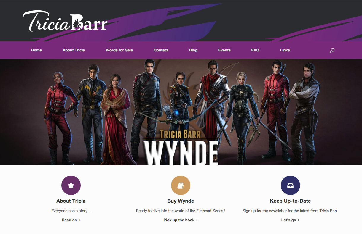 Author Branding & Website Design