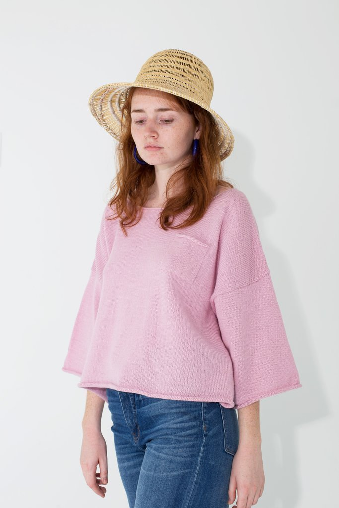Proud Mary Knit Huipile Orchid Top