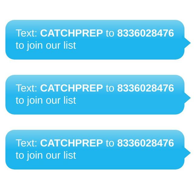 Text CATCHPREP to 8336028476 to get on our list for school updates, campus goings-on, and the latest news on all of our scholars' achievements 🎓