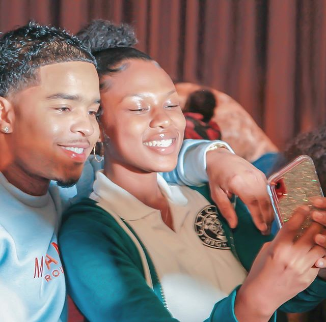 """Examples of Black Entrepreneurship go miles when it comes to our youth!  Thank you to Justin Combs @princejdc and @revolttv for encouraging @catchhighschool scholars to follow their dreams and be """"in it to win it."""""""