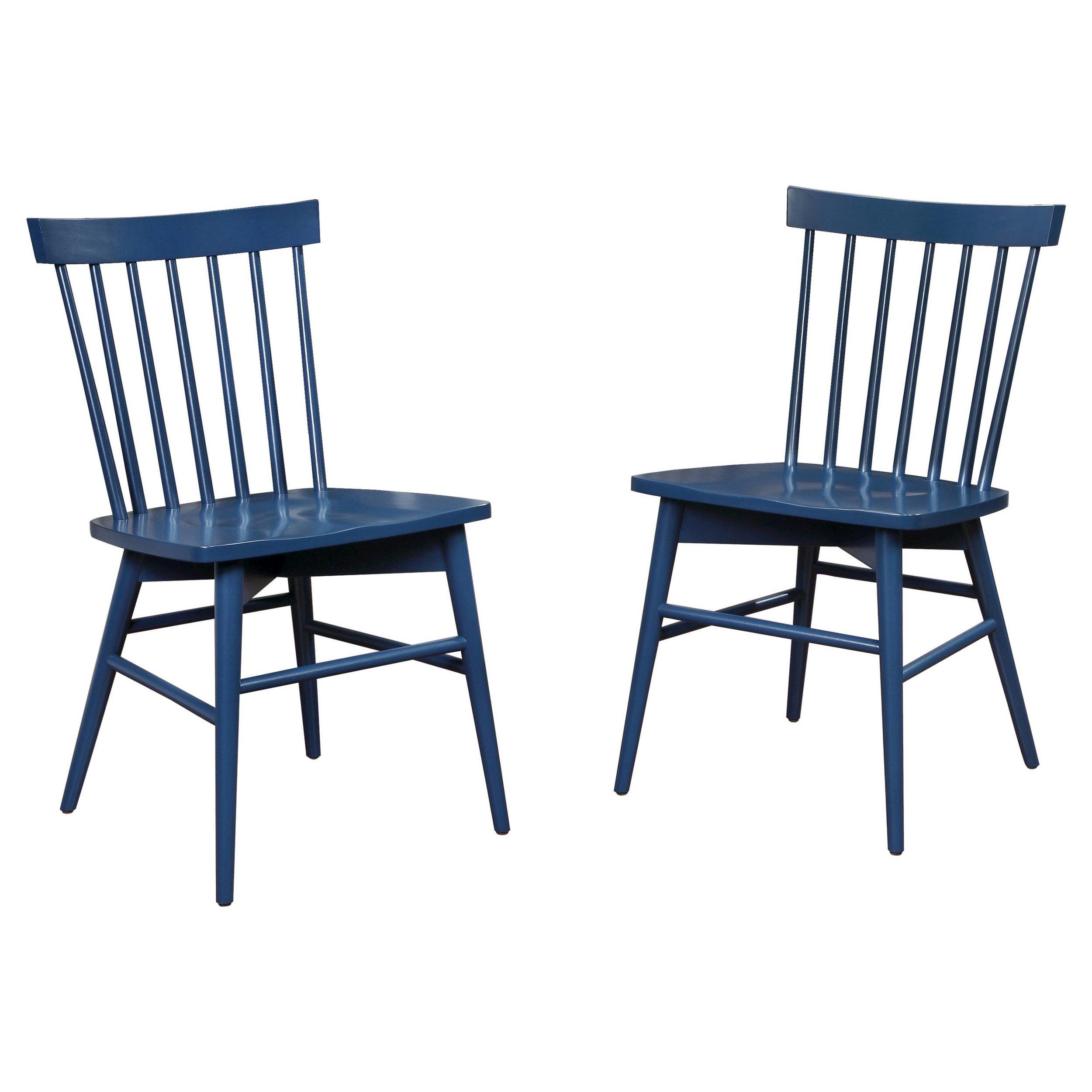 Target Windsor Chair-Navy
