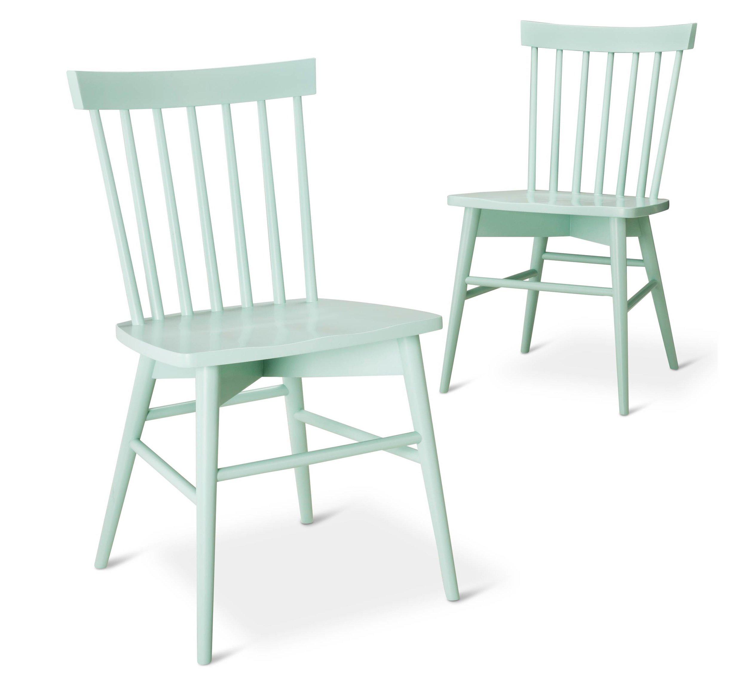 Target Windsor Chair-Mint