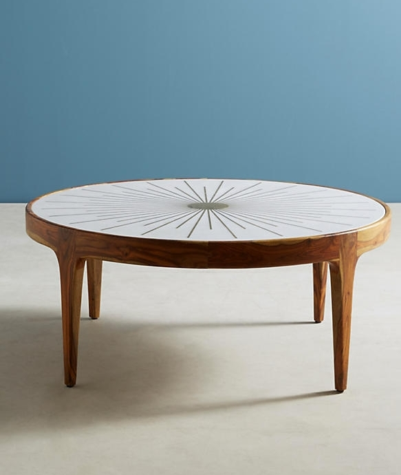 Anthropologie Brass Starburst Table $998