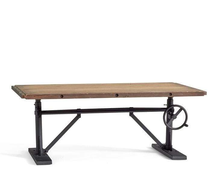 Pottery Barn Pittsburg Crank Table $899