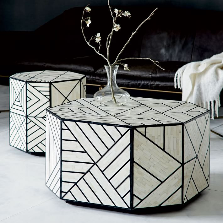 West Elm Bone Inlaid Table $999