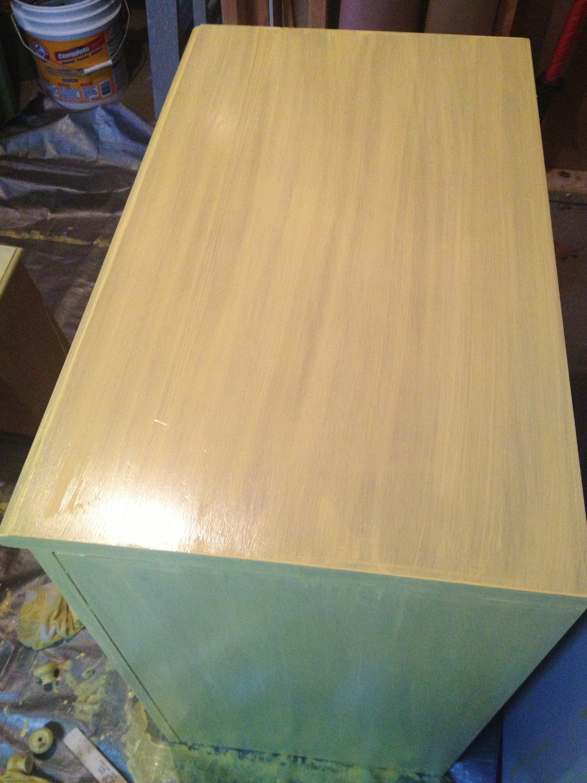 After two coats