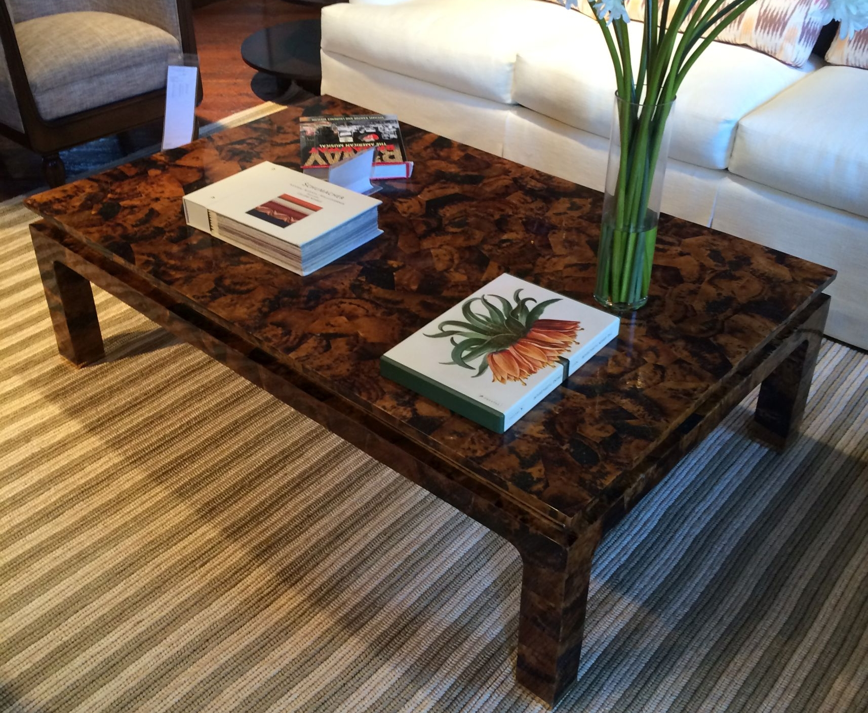 Mecox Tiger Penshell Table $3,250