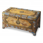 France & Son Butler Nador Painted Trunk $539