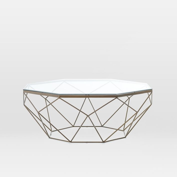 West Elm Geometric Table $799