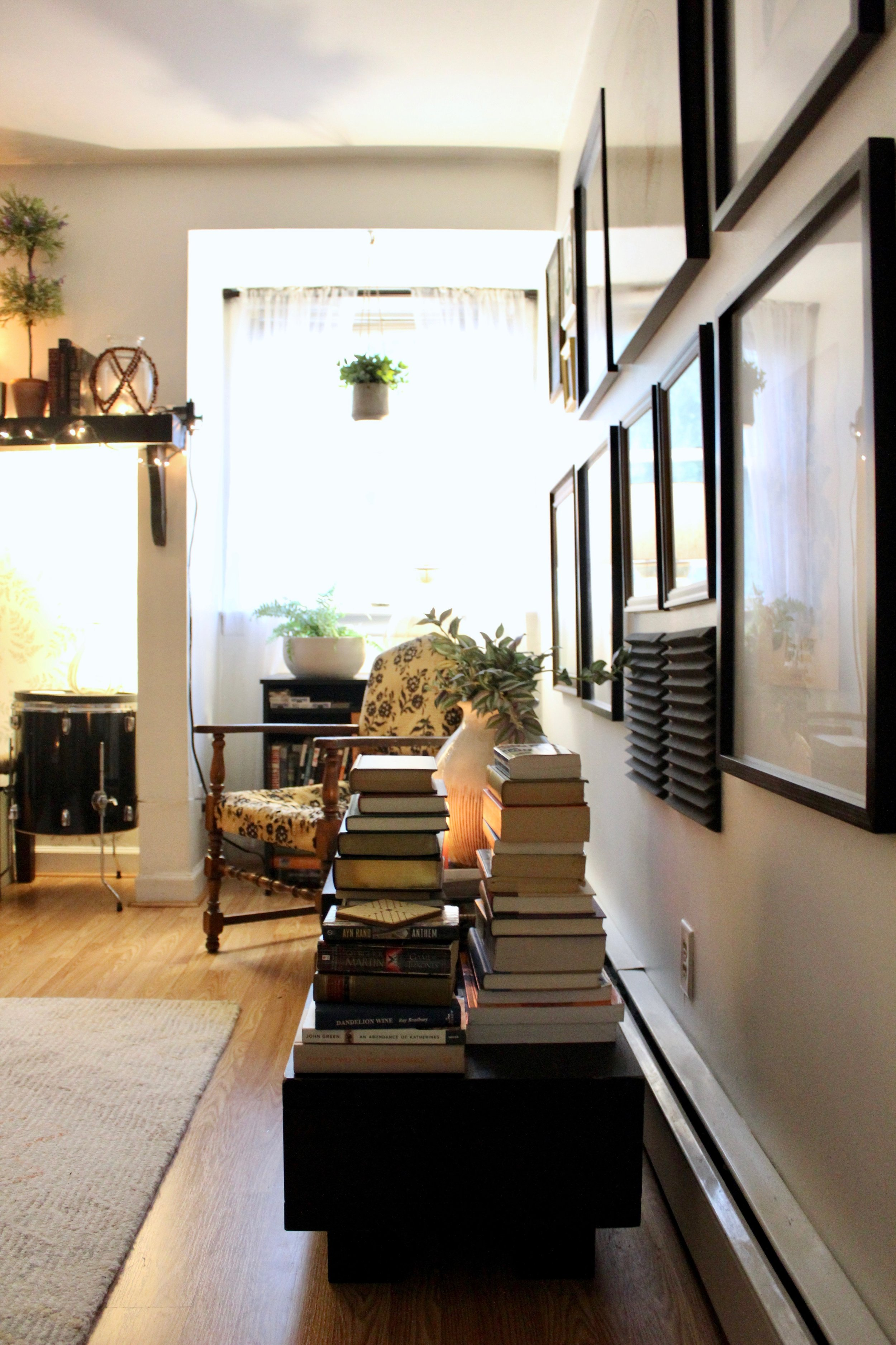 - I think stacks of books look great from any angle and you can arrange them in so many different ways, making books one of the most versitile home accessories.