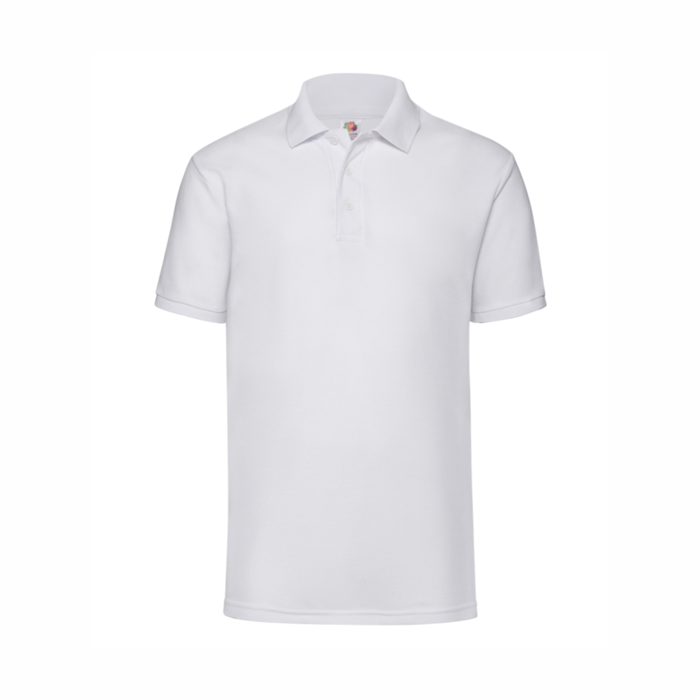 White Polo Shirts Red Penguin Sign
