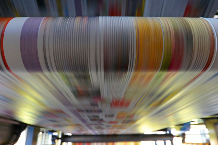 Large format printing -