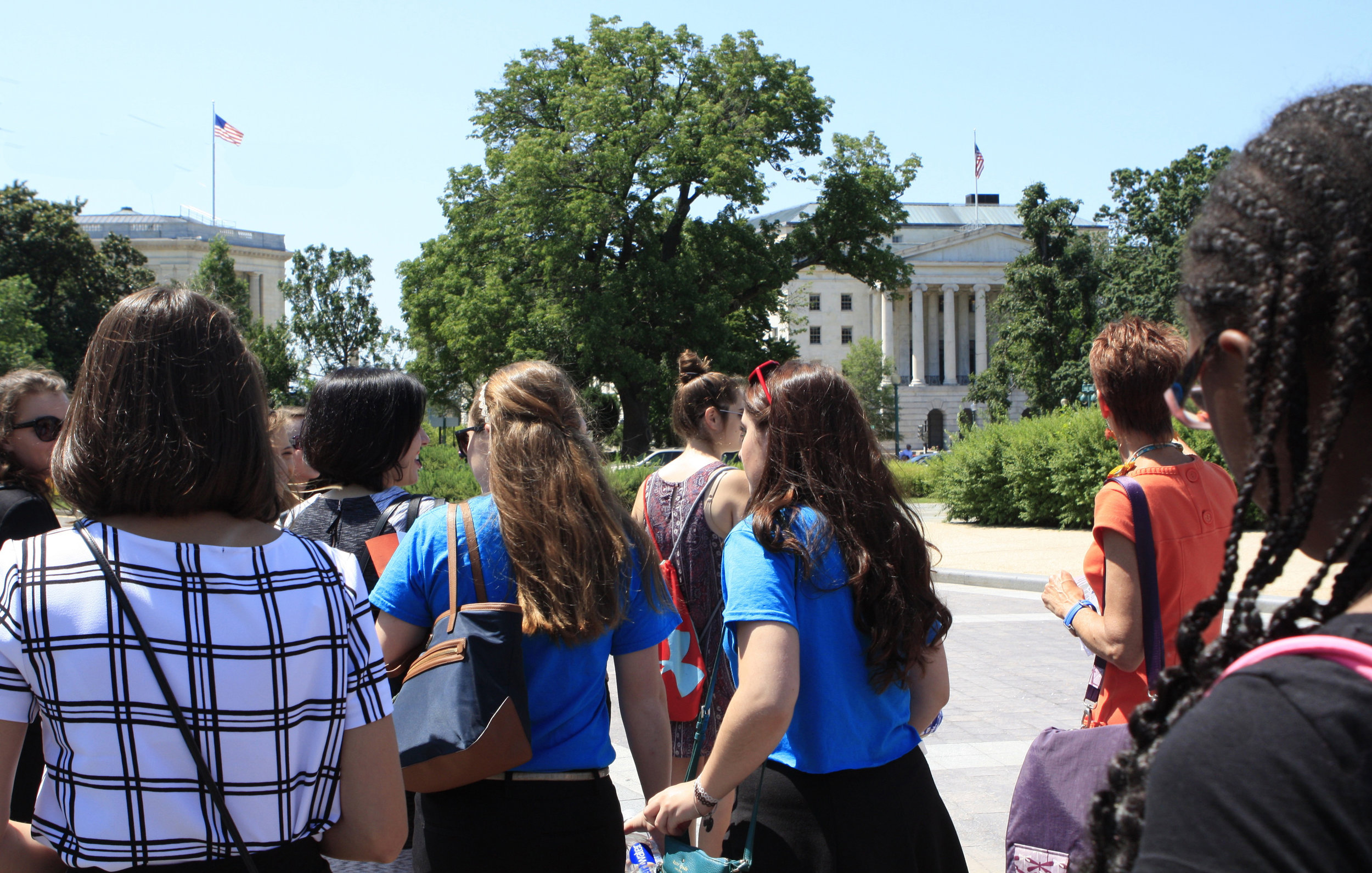 """United States - School Girls Unite, which includes middle and high school girls in the Washington D.C. area, lobbies members of the US Congress to support universal education for girls. (Julia, 12, says, """"Education opens your world to anything."""") The group, working with Girls for a Change, inspired President Barack Obama to sign a proclamation making October 11 the National Day of the Girl. (The United Nations designated October 11 as the International Day of the Girl Child). Jessica, 16, admits, """"Best was feeling like our voices mattered; like people were actually listening to us."""""""