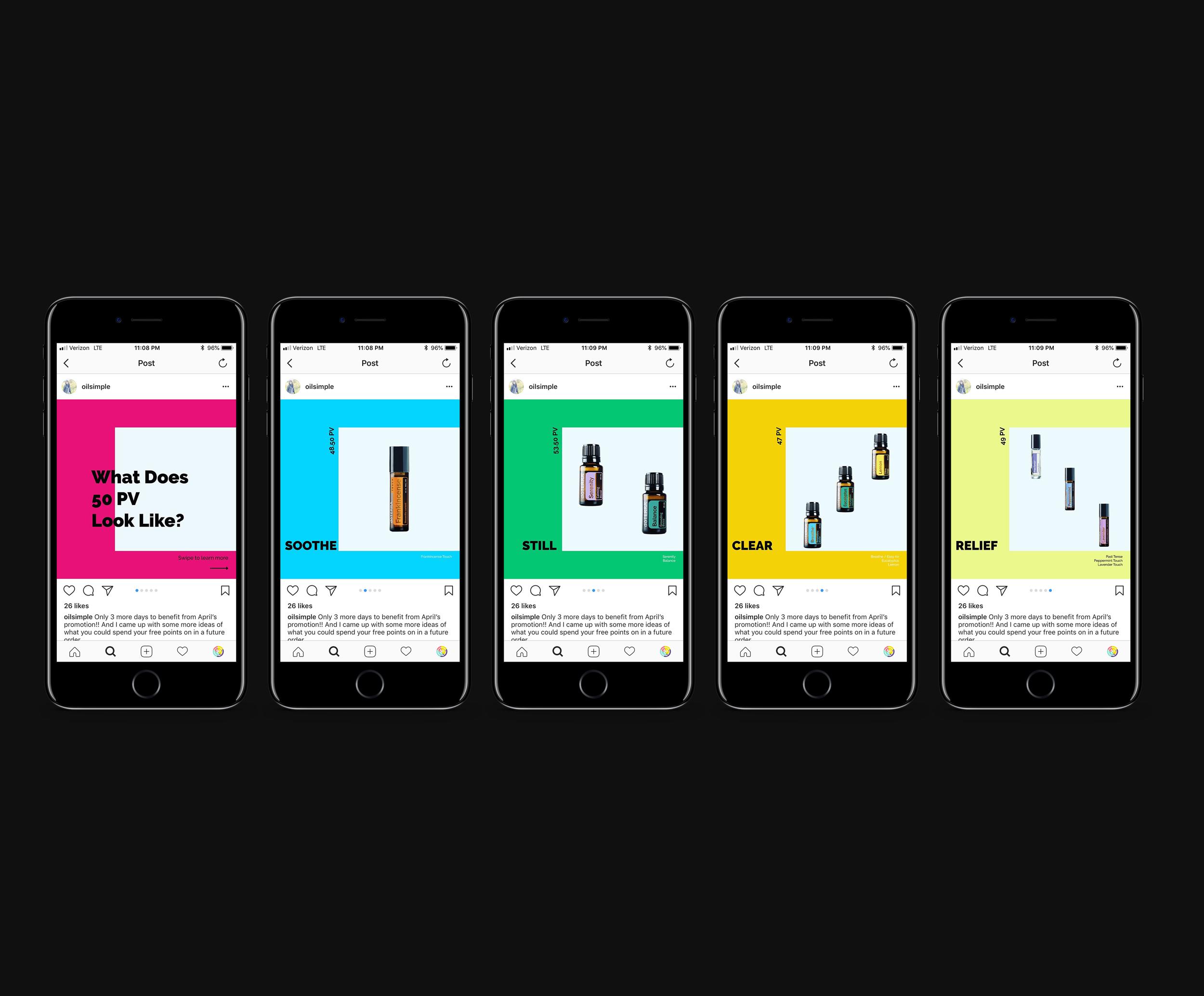 Instagram Product Visuals