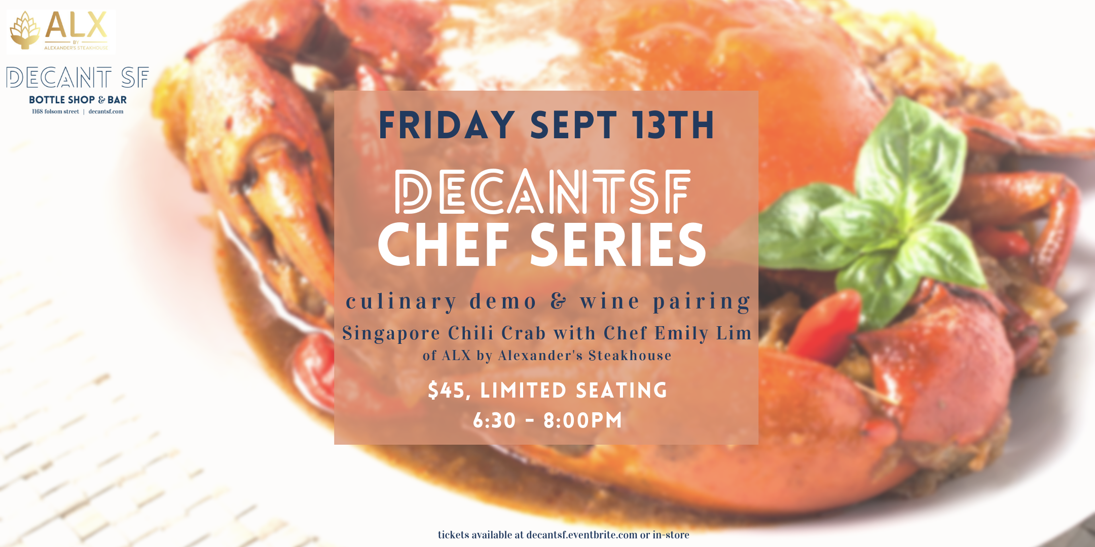 Watch as Chef Emily Lim of ALX by Alexander Steakhouse brings you a recipe dear to her heart and homeland: Chili Crab. Chef Lim will teach you how to make Mantou buns and this classic dish, while Simi & Cara put pairings to the test. What will be your favourite?