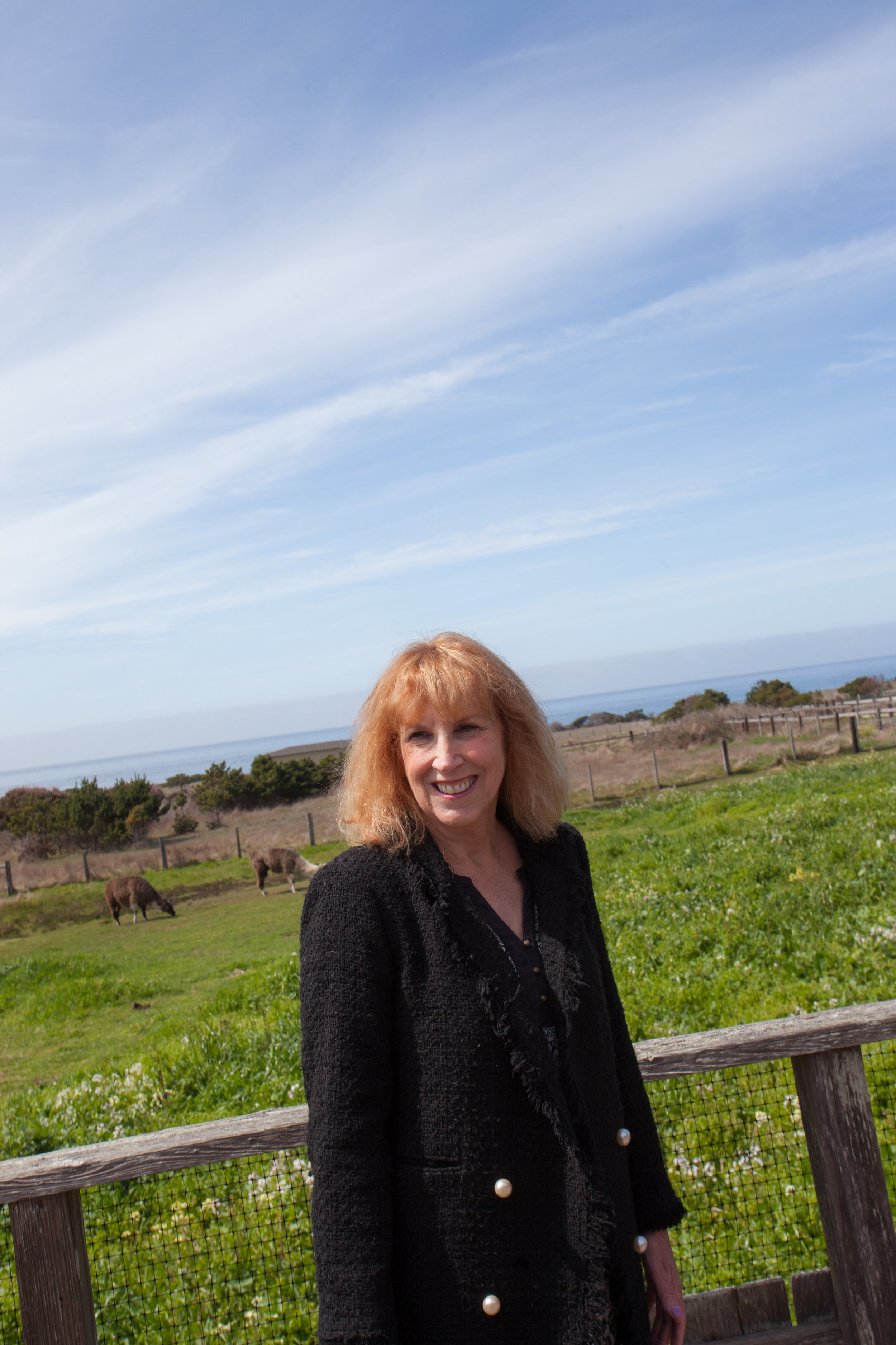 Karin, one of the Nye Ranch owners.