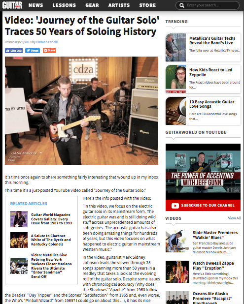 GUITARWORLD MAGAZINE -