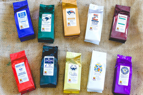 Java Java Moola Coffee bags have so many color choices and you can even design your own custom label. Here's the best tips for making your design standout!