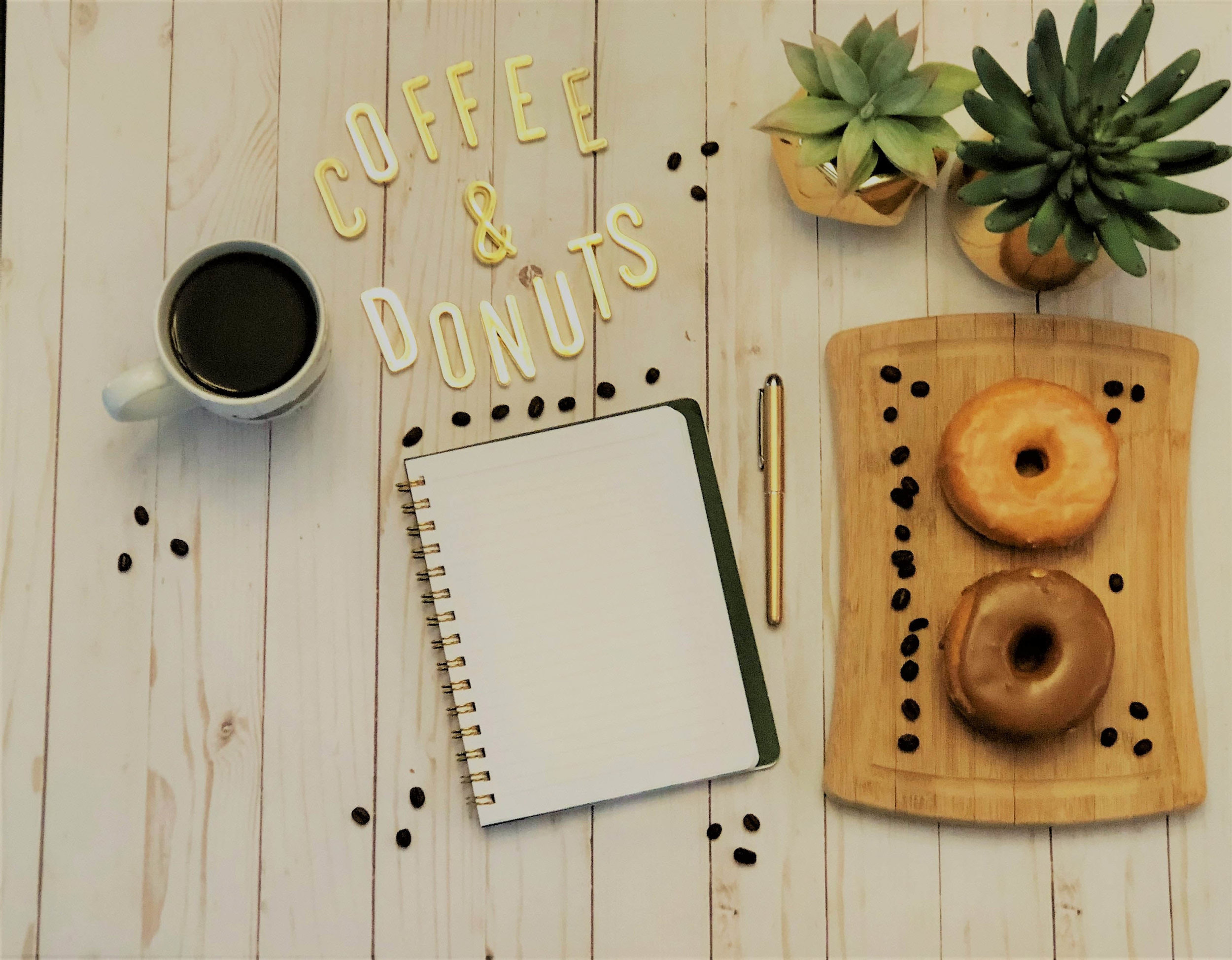 Coffee and donuts go together like peanut butter and jelly. Find out what other foods pair perfectly with your favorite cup of joe!