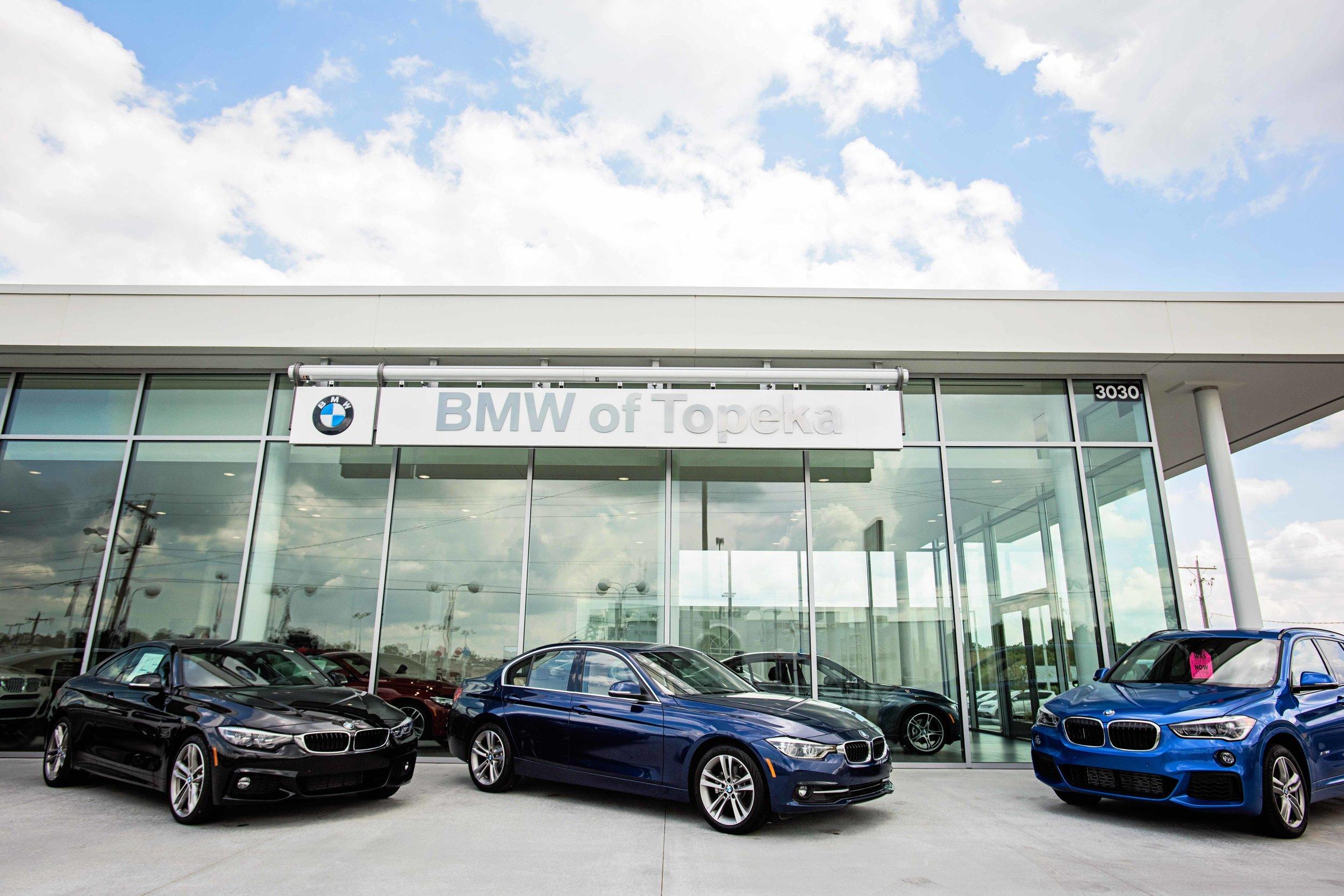BMW of Topeka - Client: Soave Automotive GroupArchitect: Slaggie Architects, Inc.