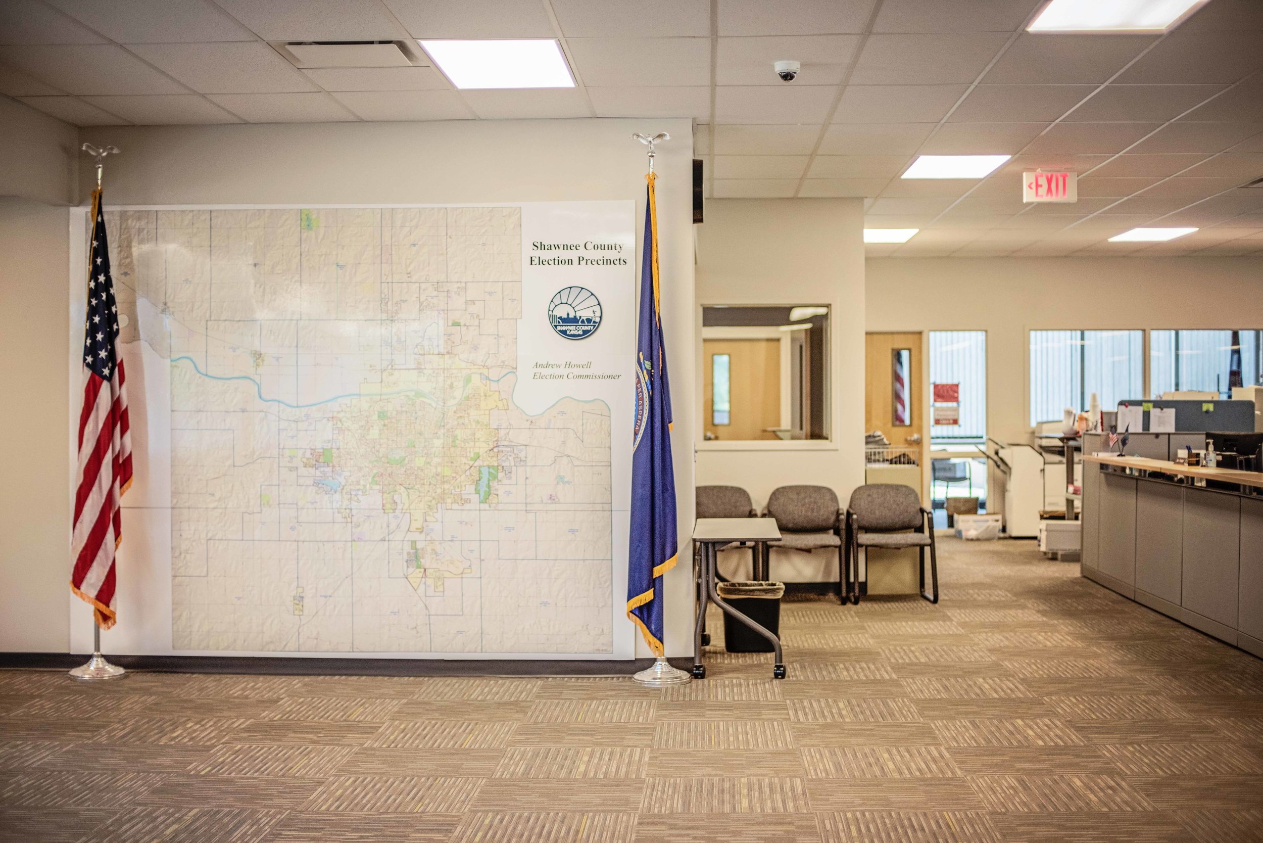 Shawnee County Elections Office - Client: Shawnee CountyArchitect: Shirley Construction/HTK Architects Design Build