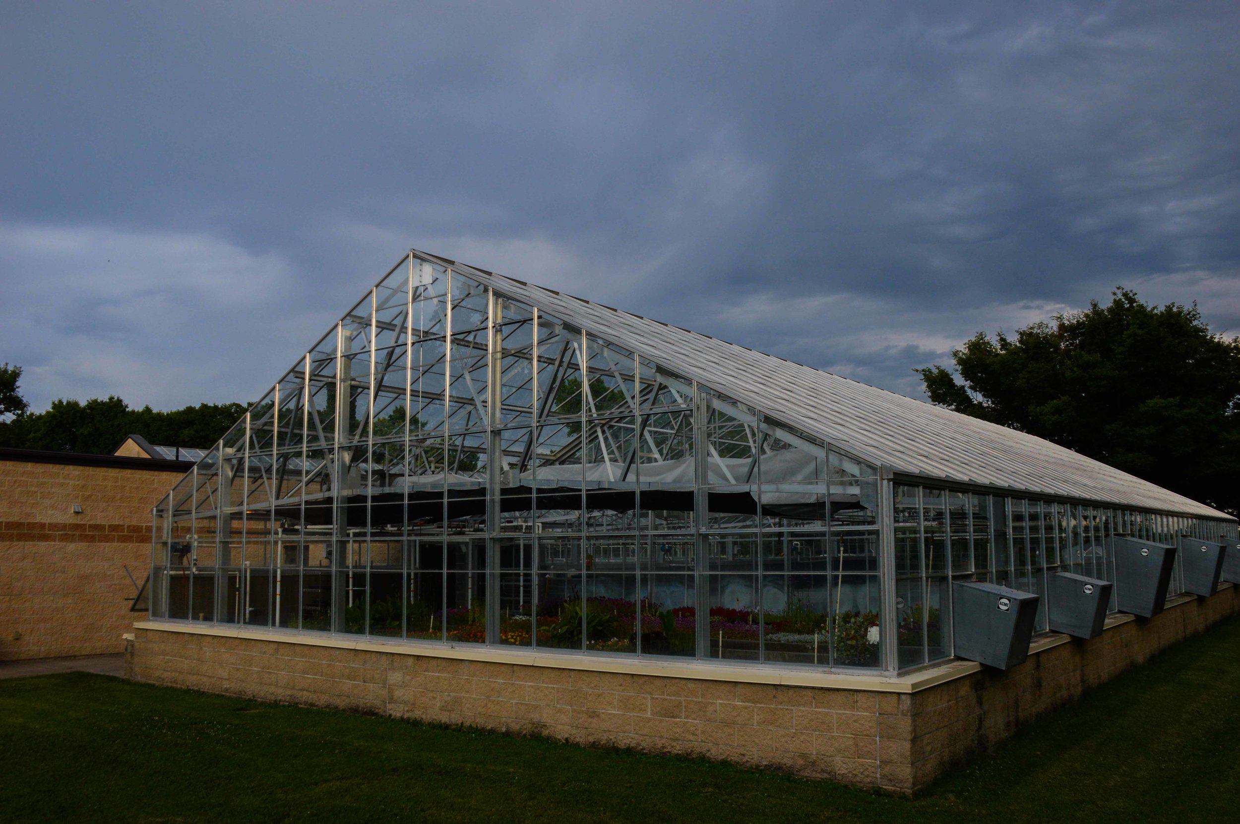 Gage Park Greenhouse   Client: City of Topeka Architect: EDDP