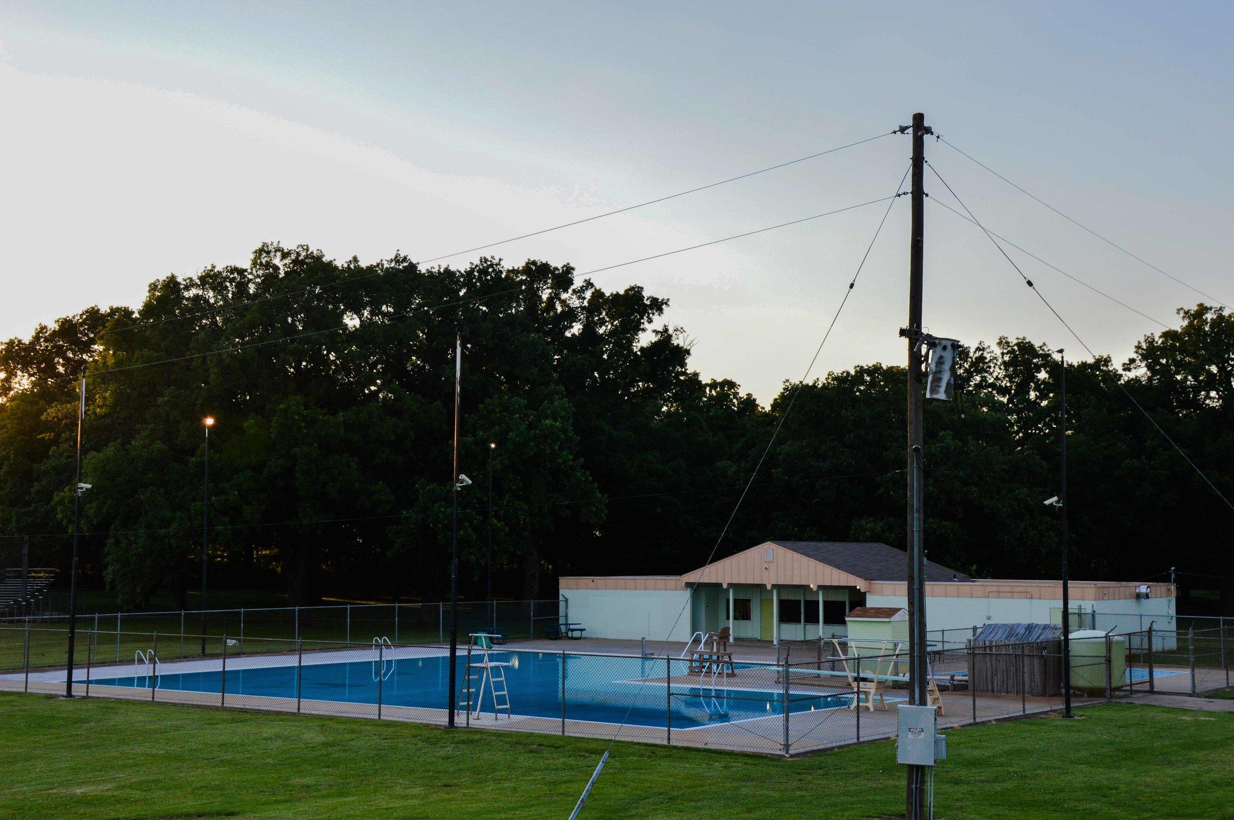 Oakland Billiard Pool   Client: Shawnee County Parks and Recreation Architect: Schwerdt Design Group