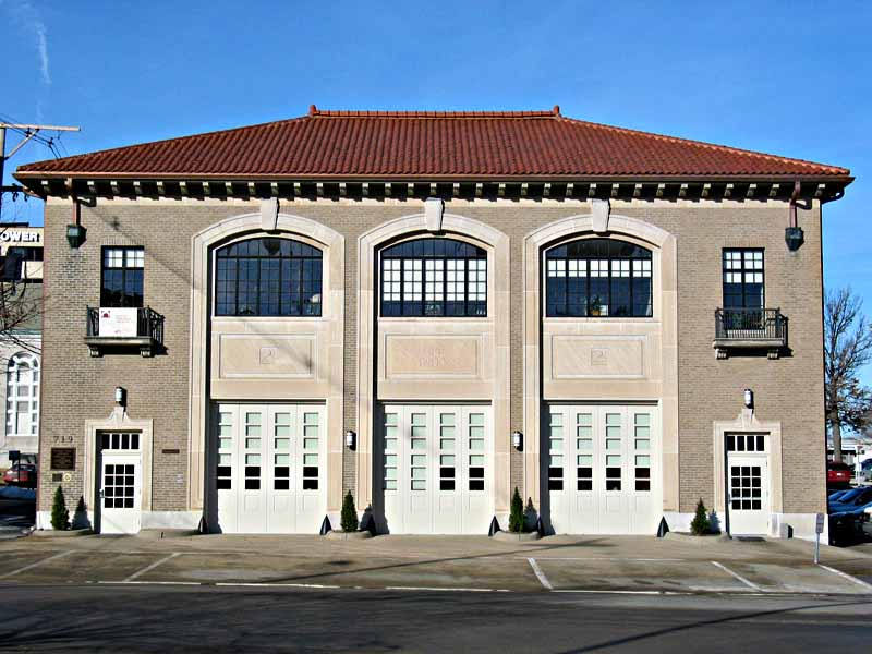 Historic Topeka Fire Station No. 2   Client: City of Topeka Architect: Slemmons and Associates