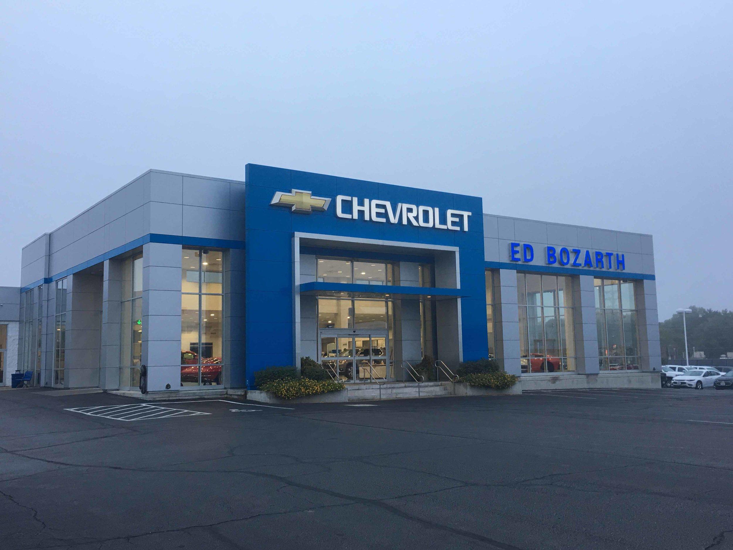 Ed Bozarth Chevy   Client: Ed Bozarth Automotive Architect: Architect One PA