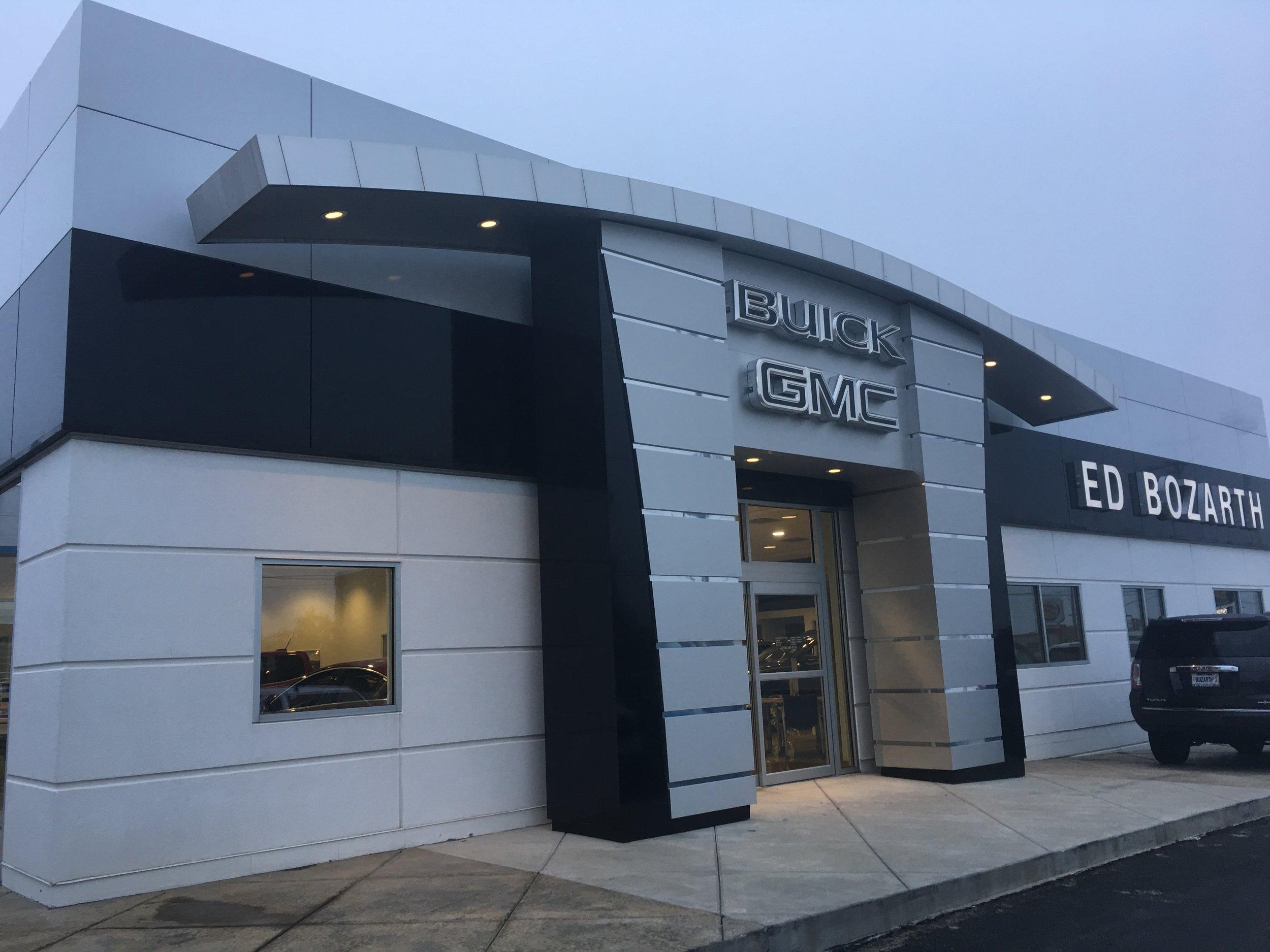 Ed Bozarth Buick / GMC   Client: Ed Bozarth Automotive Architect: Architect One P.A.