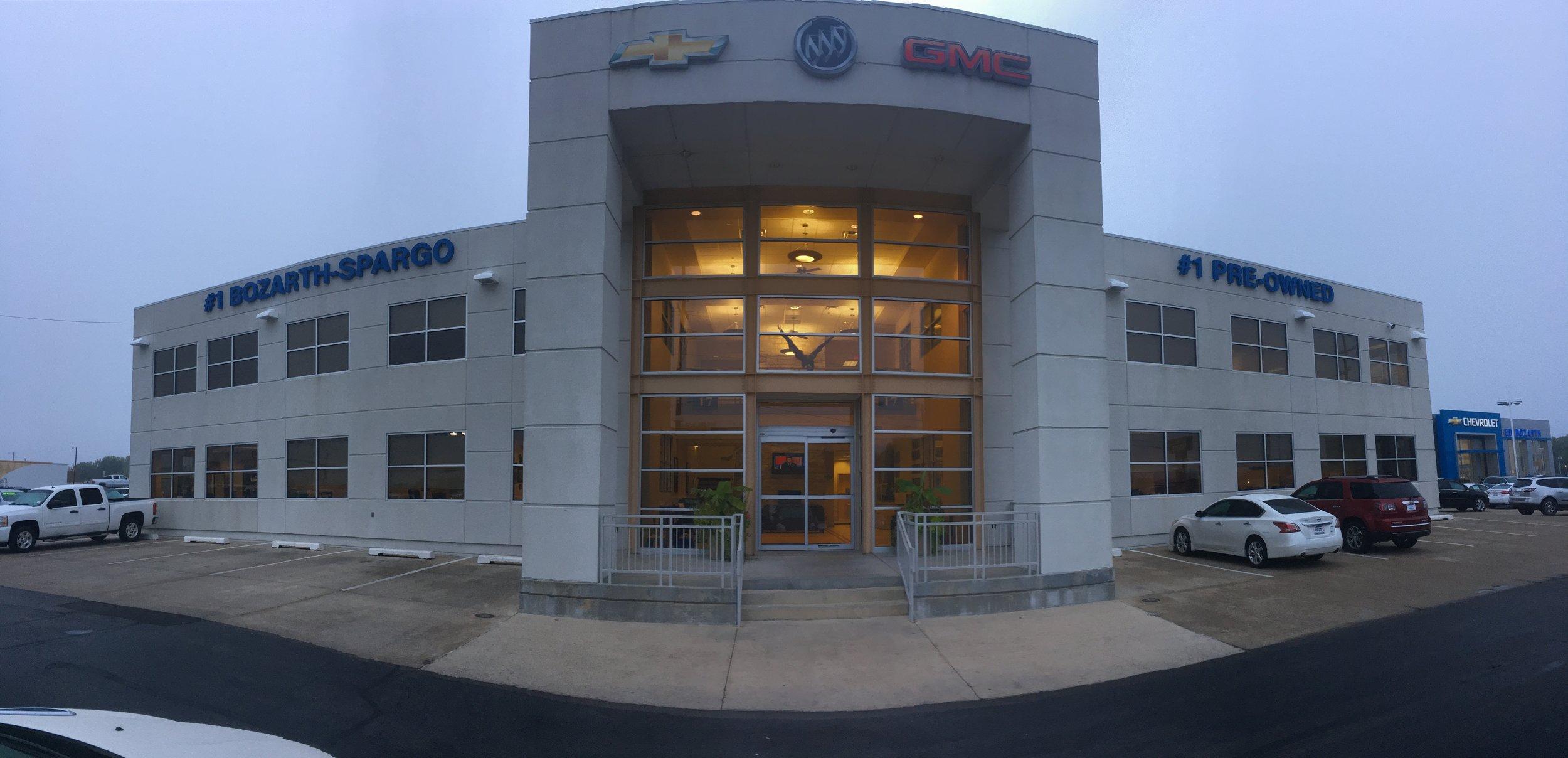 Ed Bozarth Pre-Owned Facility   Client: Ed Bozarth Automotive Architect: Architect One P.A.