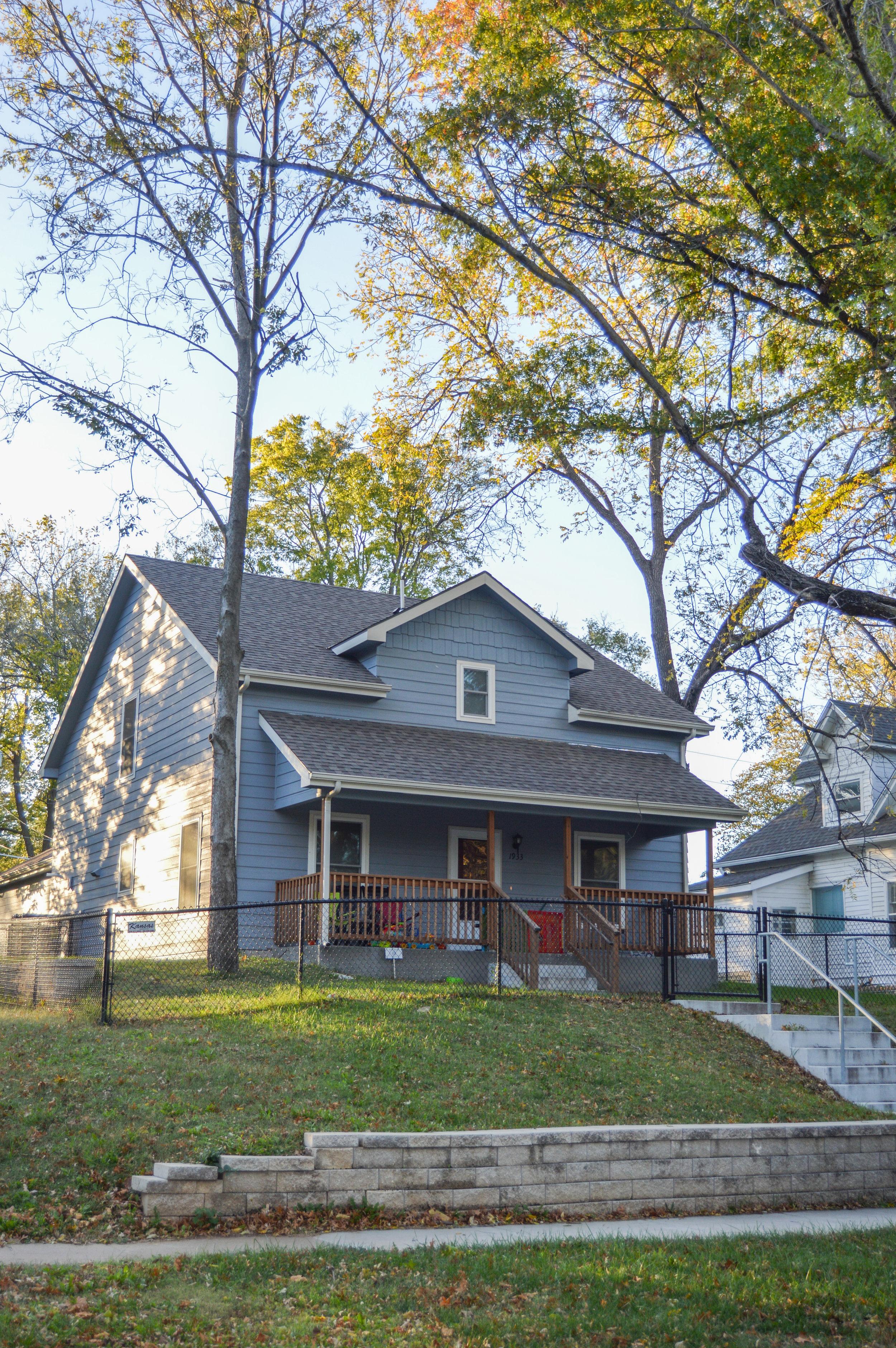 Cornerstone Single Family Housing   Client: Cornerstone of Topeka Architect: Shirley Construction Co.