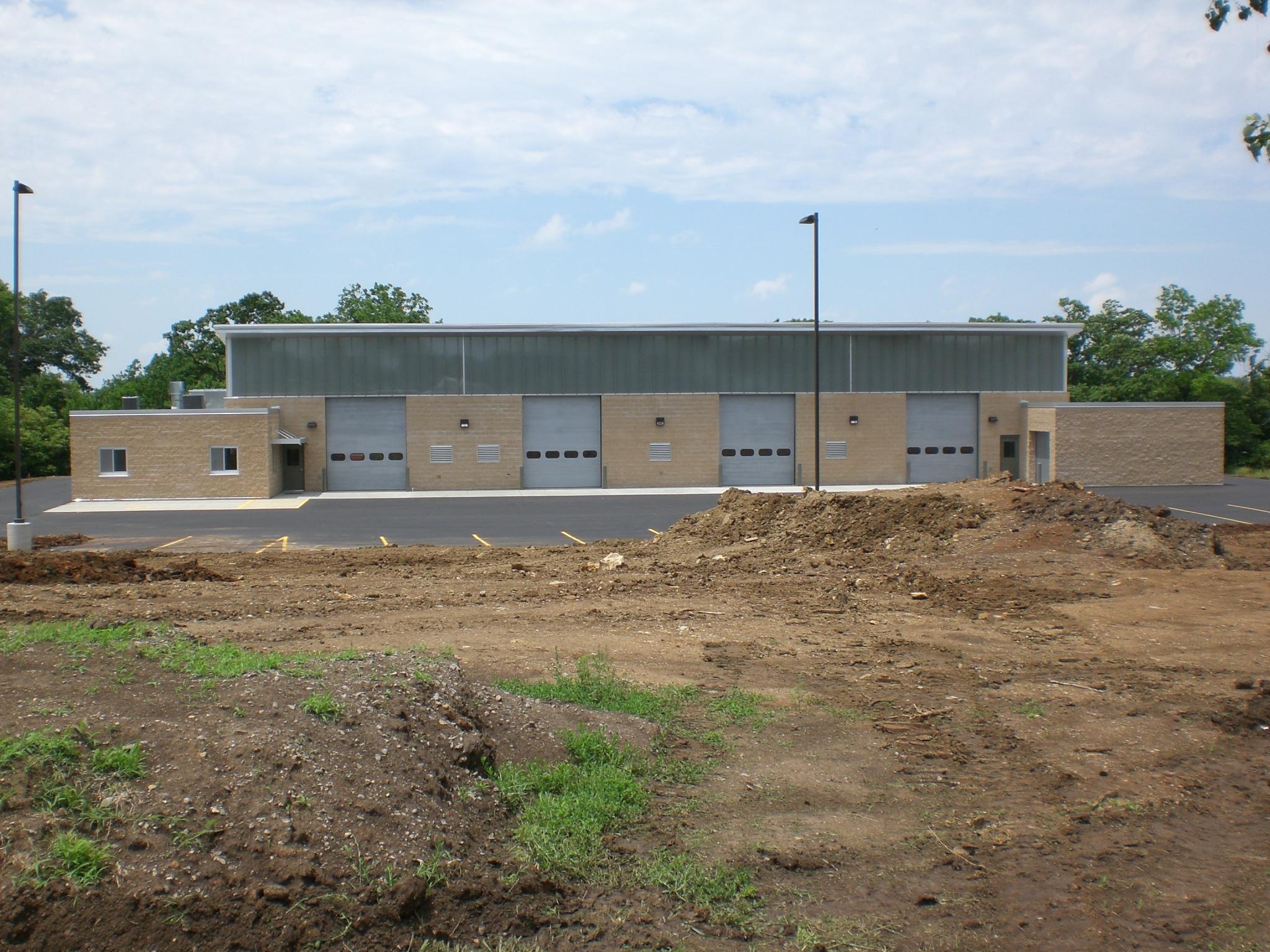 Shawnee County Golf Course Maintenance Facility   Client: Lake Shawnee Golf Course Architect: HTK Architects