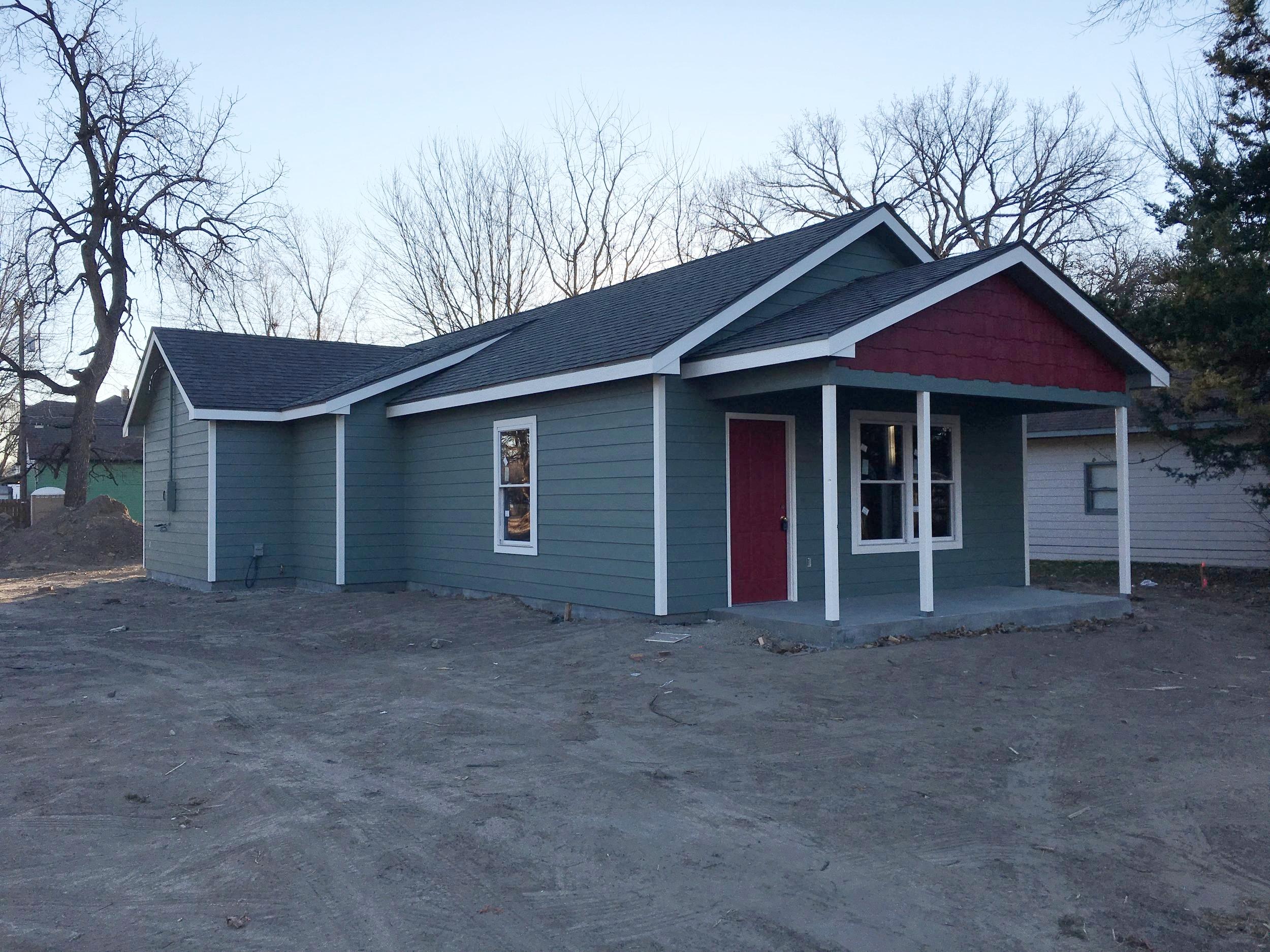 Cornerstone North Van Buren Housing   Client: Cornerstone of Topeka Architect:Cornerstone of Topeka