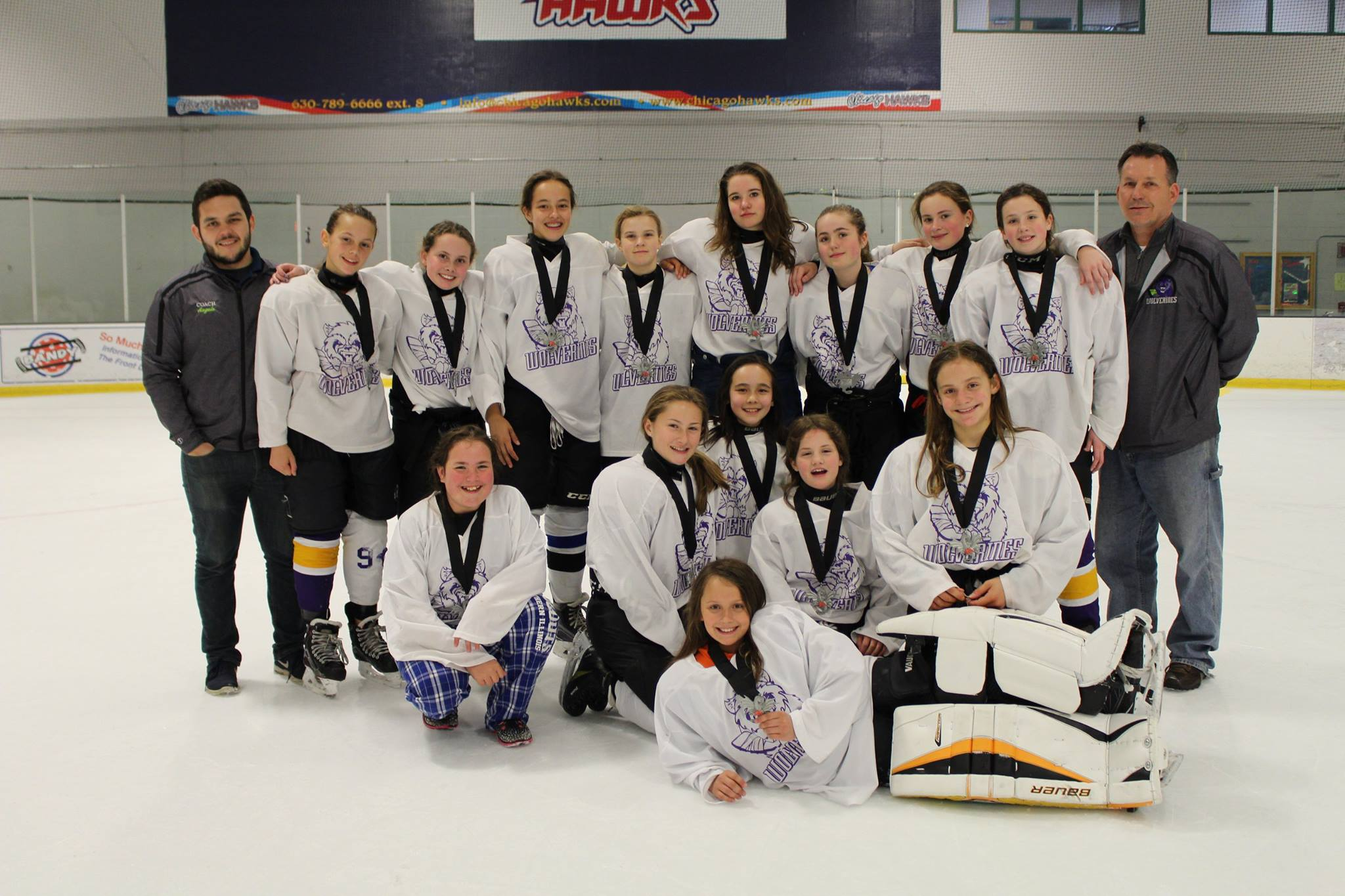 U14 2nd Place at Tournament, Spring 2017