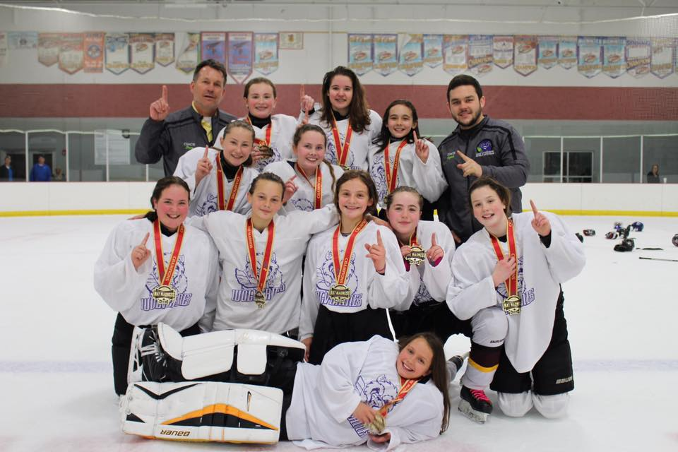 U14 1st Place at Tournament, Spring 2017