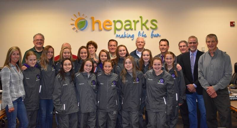 The Wolverines Girls Hockey team was named October 2017's Best of Hoffman by the HE Parks Board of Commissioners because of the tremendous success, ranking number one in Illinois this month, and in the nation over the past month.  Read the full article here.