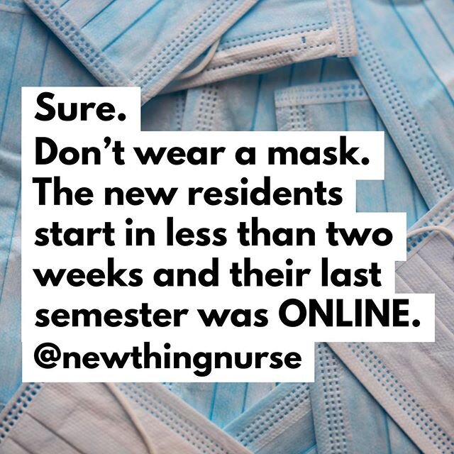 会出什么问题呢?# wearamask # covid19 # nursehumor。