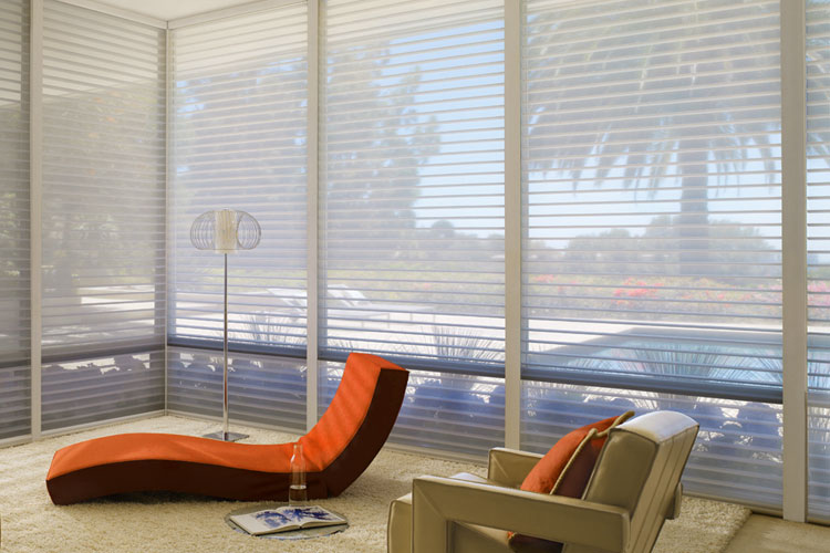 Privacy & Light Control - You can see out but not in!Our product selection of window fashions are available in a wide variety of product designs with fabrics and materials that come in a range of opacities from sheer to opaque—offering varying degrees of privacy and light control options.